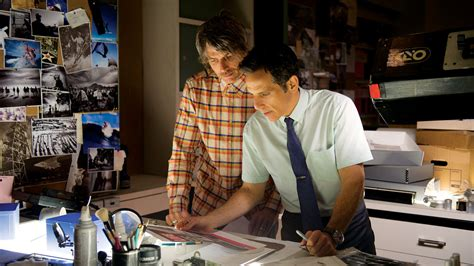 the secret life of walter mitty on the set with ben