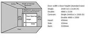 garage sizes standard garage door 187 standard size garage doors inspiring