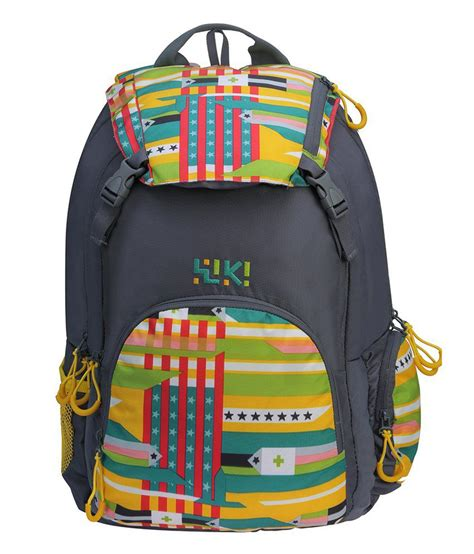 Visval Zoom Backpack Grey Original wiki flagit grey backpack no buy wiki flagit grey backpack no at low price snapdeal