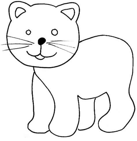 imagenes de gatitos faciles para dibujar gato para dibujar facil