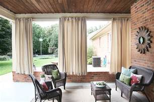 Diy outdoor curtains 7th house on the left