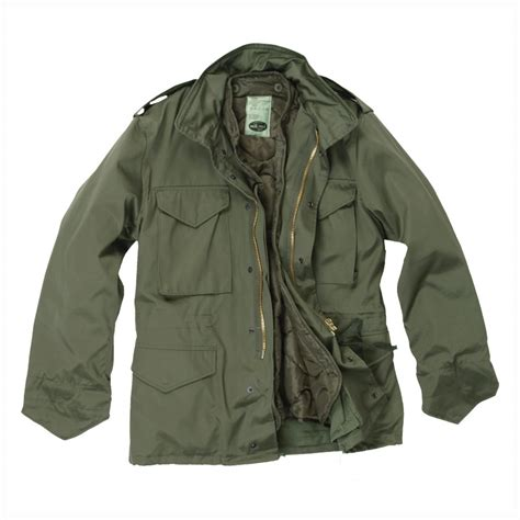 Jaket Army classic m65 army combat field jacket patrol style