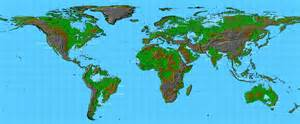 a detailed map of how the world would look like when