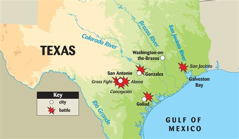 map of the texas revolution texas revolution battle map thinglink