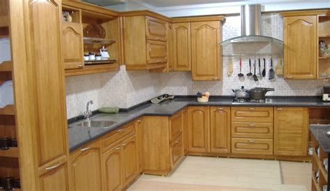 Rubberwood Kitchen Cabinets Rubber Wood Modular Kitchen Manufacturer In West Bengal India By Kolkata Furniture Id 3523074