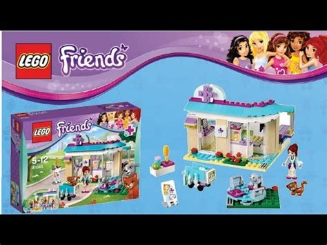 lego friends vet clinic lego friends vet clinic 41085 review and time lapse build