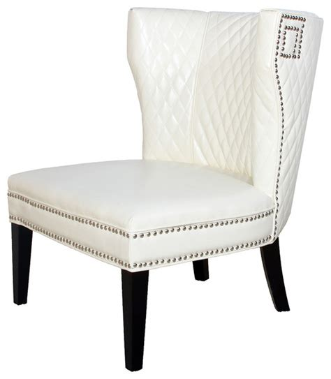 white leather club chair quilted ivory white leather club chair traditional living room chairs by great deal furniture
