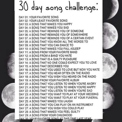 8tracks radio 30 day song challenge 25 songs free 8tracks radio 30 day song challenge 21 songs free