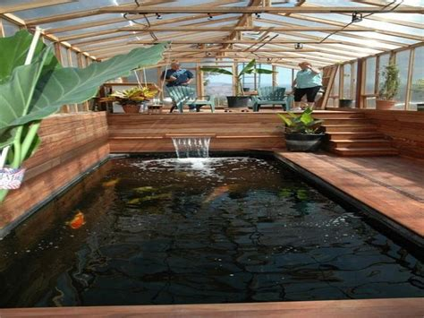 indoor pond indoor fish pond crowdbuild for