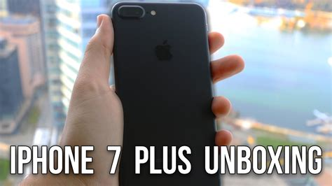256gb black iphone 7 plus unboxing ft typical gamer