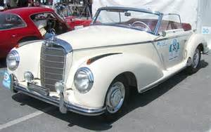 Mercedes 300 S The Top 10 Mercedes Models Of The 1950s