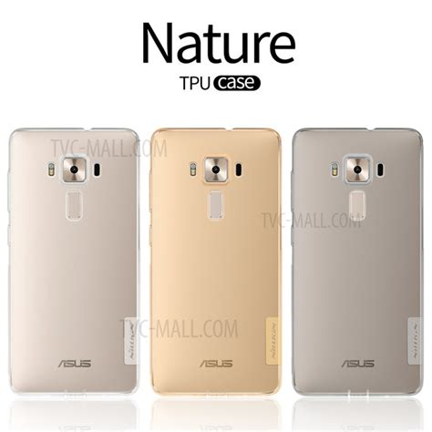 Nillkin Nature 06mm Soft Asus Zenfone 3 Deluxe Zs570kl 57 nillkin 0 6mm nature soft tpu for asus zenfone 3