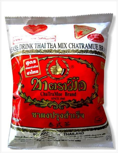 Thai Mixed Coffee Chatra Mue Brand thai tea mix cha tra mue thai black tea mix marketplace