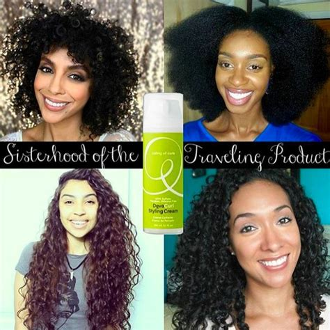 using devacurl products in african american hair how the devacurl styling cream works on 4 different curl