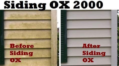 siding cleaner ox effective earth friendly  toxic