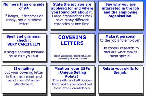 Resume Job Vacancy Sample by How To Write A Successful Covering Letter