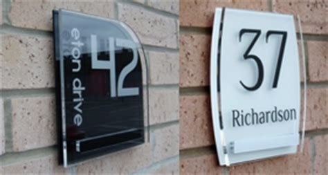 design house numbers uk plastic republic style without compromise