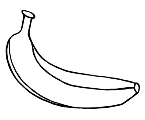 banana coloring page coloring book