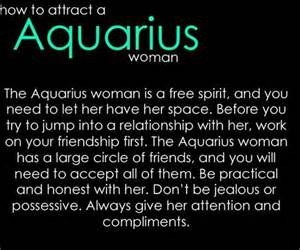 how to attract an aquarius woman the water barrier