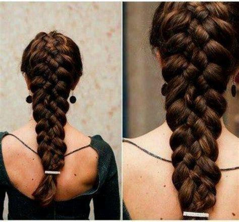 5 strand french braid 5 strand braid hair pinterest