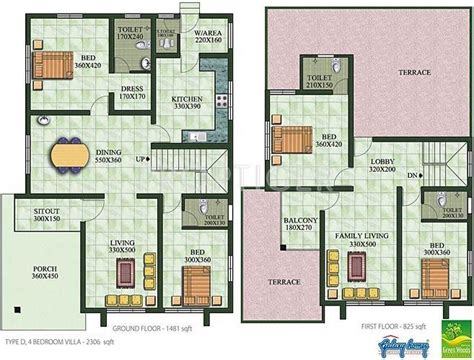 villa type house plans type home plans ideas picture