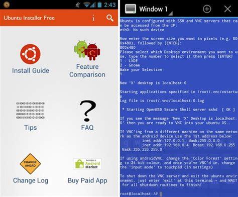 how to install ubuntu on phone techeaven how to install ubuntu inside your android phone