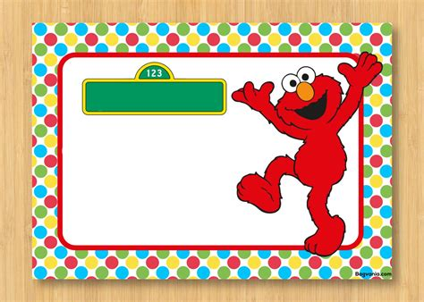 Free Printable Elmo Birthday Invitations Bagvania Free Printable Invitation Template Elmo Birthday Invitations Template Free