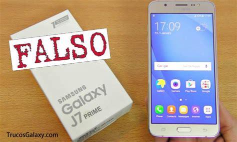 Samsung J7 Prime Replika como saber si un samsung j7 prime es original trucos galaxy