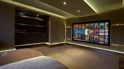 home theatre design uk acoustically treated home cinema liverpool