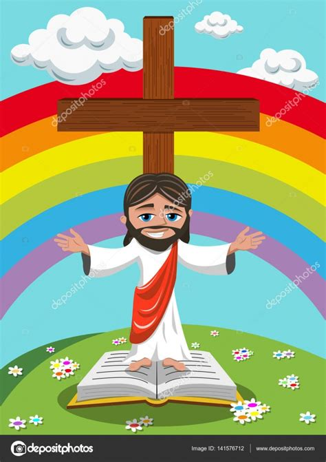 imagenes de jesus animado prado de jes 250 s brazos abiertos evangelio biblia de dibujos