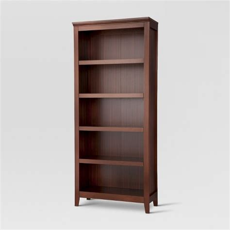 book shelves target carson 5 shelf bookcase threshold target