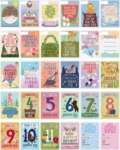 toddler cards milestone baby cards the best baby shower gift for your