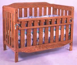 Solid Oak Crib by Convertible Child S Crib Bed That Grows With Your Child