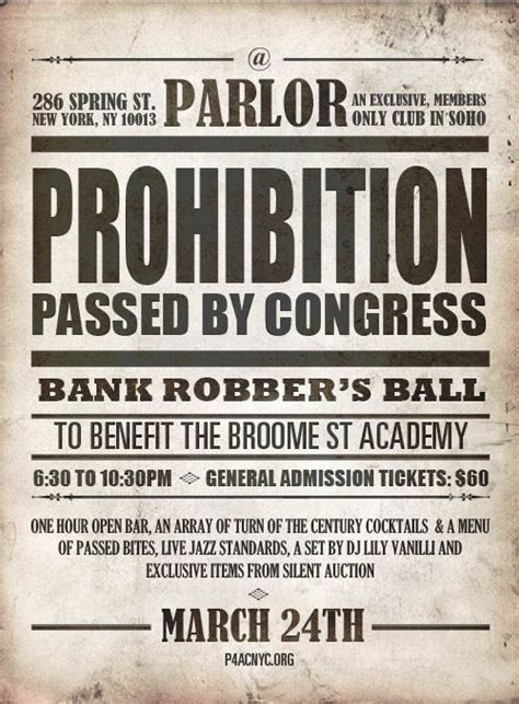 Prohibition Also Search For Prohibition Prohibition Era