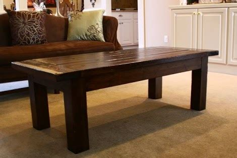 ana white updated tryde coffee table pocket holes