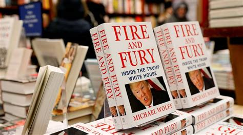 and fury inside the white house books donald battles with fury excerpts from book