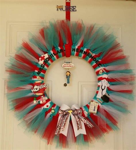 chrisymas nurse craft themed wreath my creativity wreaths wreath and craft