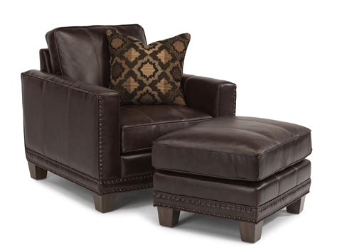 flexsteel chair and ottoman flexsteel latitudes port royal transitional chair and