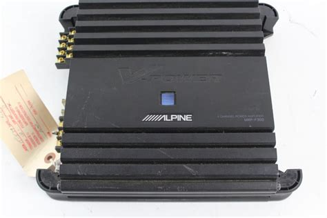 Power Lifier Alpine alpine v power mrp f300 car lifier property room