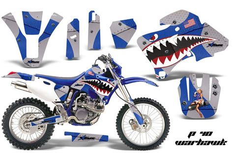Motorbike Sticker Kits amr racing motorcycle graphic sticker mx kit yamaha wr