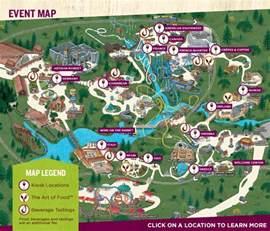 food wine festival map busch gardens williamsburg