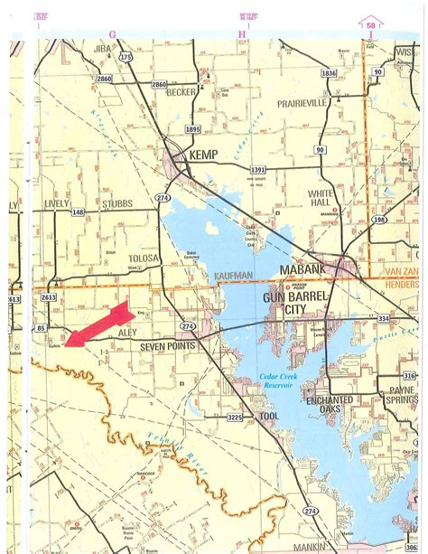 henderson texas map 1043 acres in henderson county texas