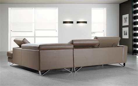 beige leather sectional sofa waltz beige leather sectional sofa