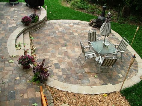 Paver Patio Cost Home Improvement 2017 Ideas With Cost Paver Patio