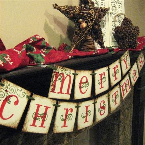 christmas decorations merry christmas banner holiday