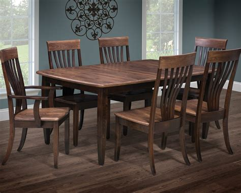 Dining Room Chairs Nashville Amish Made Nashville Dining Set Homesquare Furniture