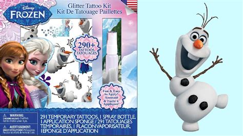 tattoo kit unboxing frozen glitter tattoo kit unboxing queen elsa princess