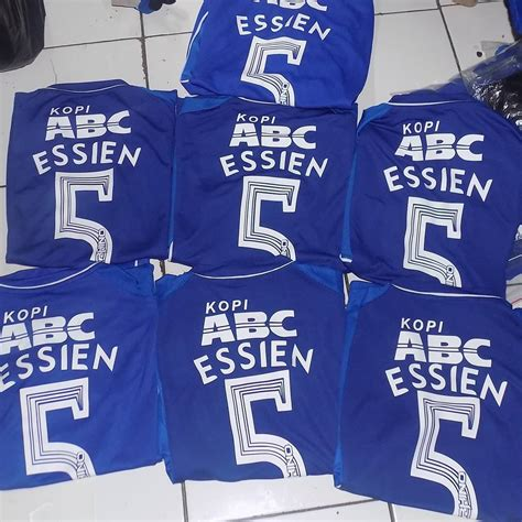 Jersey Persib Away Gold Best Seller 2017 2018 Grade Ori Official jersey persib home 2016 2017 essien name set jersey bola