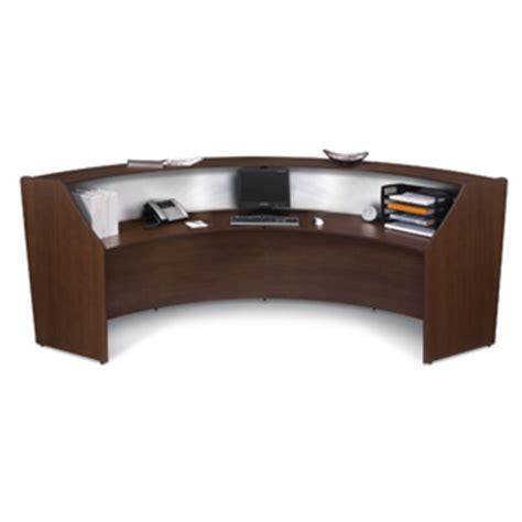 The Office Leader Ofm 55312 Reception Desk Workstation Ofm Reception Desk