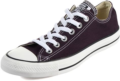 converse shoes converse chuck all black cherry low top shoes